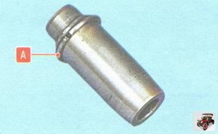 направляющая втулка клапана со стопорным кольцом