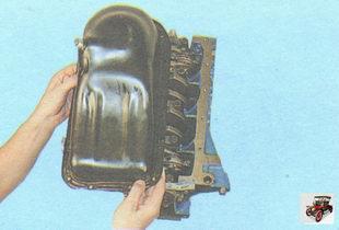 поддон масляного картера; уплотнительная прокладка поддона масляного картера