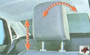 подголовник передних сидений
