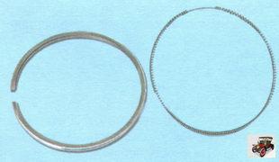 поршневые кольца и расширитель маслосъемного кольца