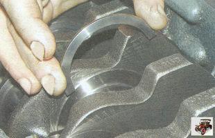 сталеалюминиевое полукольцо коленвала