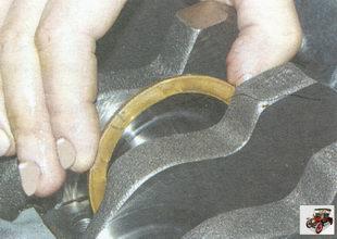 металлокерамическое полукольцо коленвала