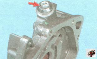 пробка редукционного клапана масляного насоса