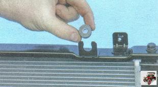 резинометаллические втулки радиатора