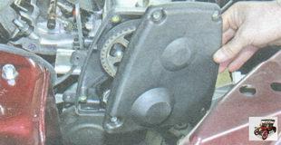 верхняя часть передней крышки привода ремня ГРМ