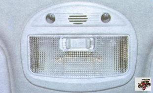 плафон освещения салона