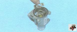 фиксирующая пластина термостата