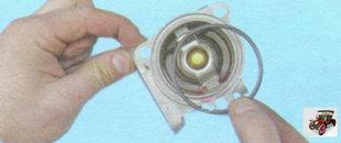 уплотнительное кольцо крышки термостата