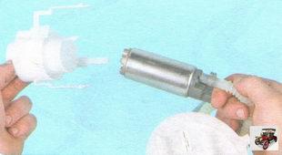 Топливный насос (бензонасос) Лада Гранта