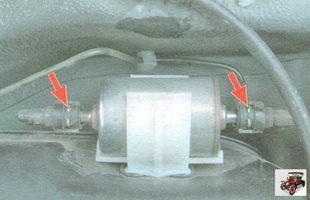 фильтром тонкой очистки топлива ваз 2190