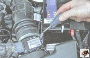 хомут крепления патрубка воздушного фильтра