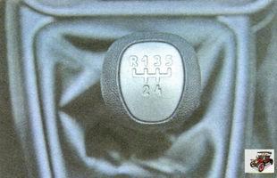 ручка управления коробкой передач