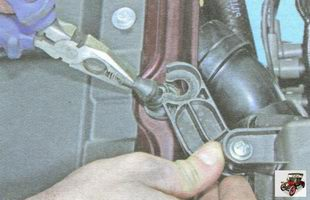 опора корпуса воздушного фильтра