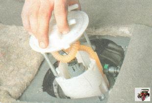 модуль погружного бензонасоса (топливного насоса) лада гранта ваз 2190