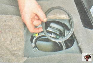 резиновая уплотнительная прокладка бензонасоса (топливного насоса) лада гранта ваз 2190