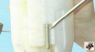 стопорное кольцо стакана модуля бензонасоса