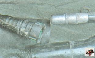 шланг воздухоотводящего трубопровода заливной горловины
