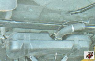 топливный бак (бензобак) лада гранта ваз 2190