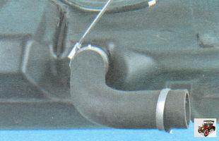 соединительный шланг заливной горловины бензобака