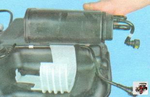 адсорбер системы улавливания паров топлива лада гранта ваз 2190