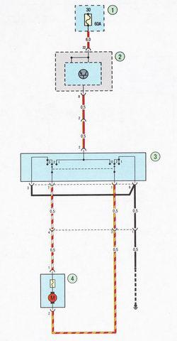 Схема соединения системы гидропривода тормозной системы Форд Фокус 2