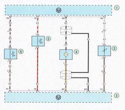 Электрическая схема 7f. Схема соединения системы управления двигателем Форд Фокус 2
