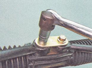 снятие рулевой тяги ВАЗ 2111