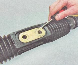снятие рулевой тяги ВАЗ 2112