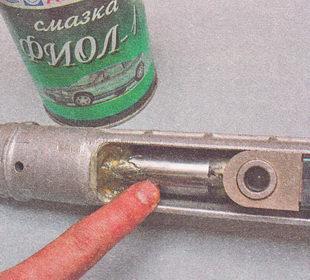 Фото №7 - замена пыльника рулевой рейки ВАЗ 2110