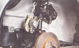 тормозной диск - снятие, установка, замена