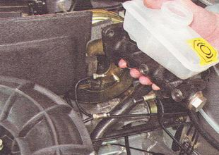 главный тормозной цилиндр ВАЗ 2110, в сборе с бачком
