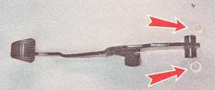 пластмассовые втулки педали тормоза ВАЗ 2110