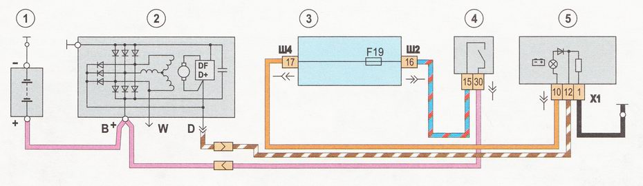 Фото №16 - схема генератора ВАЗ 2110