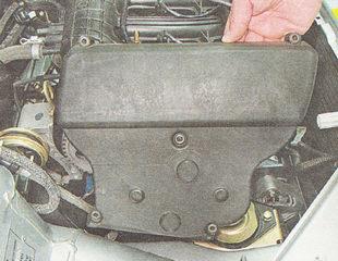 верхняя часть крышки ремня привода ГРМ ВАЗ 2110