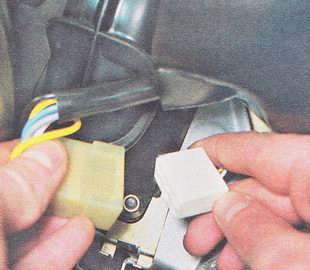 разъем жгута проводов стеклоочистителя