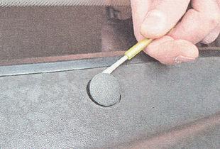 заглушка саморезы верхнего крепления решетки воздухопритока