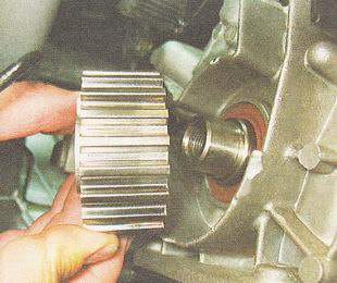 зубчатый шкив коленвала ВАЗ 2110