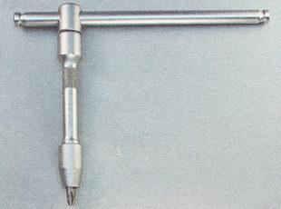 вороток из набора торцовых ключей с большим крестовым наконечником