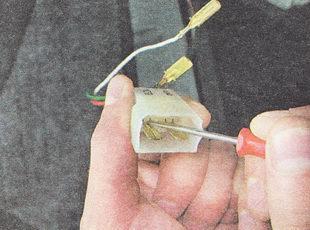 разъем жгута проводов крышки багажника