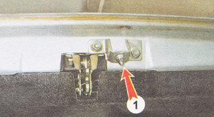 регулировка замка крышки багажника