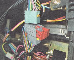 разъем проводов панели приборов