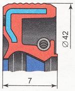 сальник коленвала, распредвала ВАЗ 2110 | ВАЗ 2111 | ВАЗ 2112