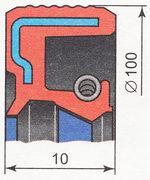 задний сальник коленвала ВАЗ 2110 | ВАЗ 2111 | ВАЗ 2112