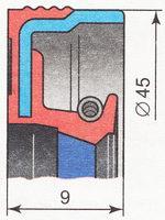 сальник первичного вала кпп ВАЗ 2110 | ВАЗ 2111 | ВАЗ 2112