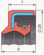 сальник рулевой рейки ВАЗ 2110 | ВАЗ 2111 | ВАЗ 2112