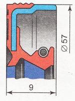 сальник привода переднего колеса ВАЗ 2110 | ВАЗ 2111 | ВАЗ 2112