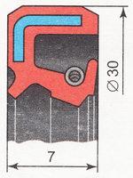 сальник штока выбора передач ВАЗ 2110 | ВАЗ 2111 | ВАЗ 2112