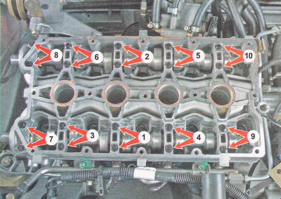 Фото №22 - момент затяжки гбц ВАЗ 2110 8 клапанов