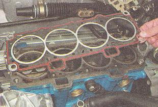 прокладка головки блока цилиндров ВАЗ 2111