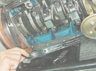 прокладка поддона картера двигателя ВАЗ 2110